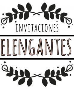 invitacione elegante