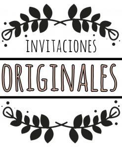 invitaciones originales