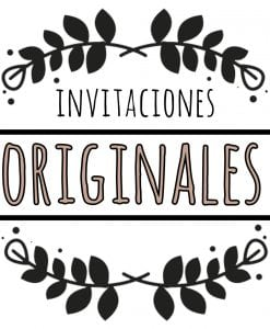 invitaciones originales