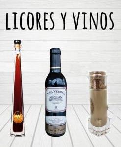 licores y vinos