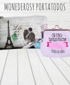 MONEDEROS Y PORTATODOS