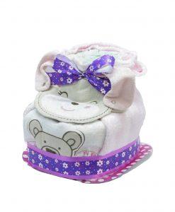 Original Patuco de pañales para regalo de recién nacidos Patuco de pañaleS
