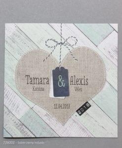 Invitación Romantic 726002BE - tiendadeilusiones