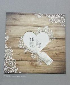 Invitación Romantic 726003BE - tiendadeilusiones