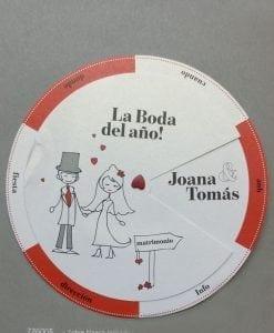 Invitación Romantic 726005BE - tiendadeilusiones