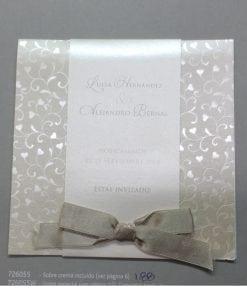 Invitación Romantic 72955BE - tiendadeilusiones