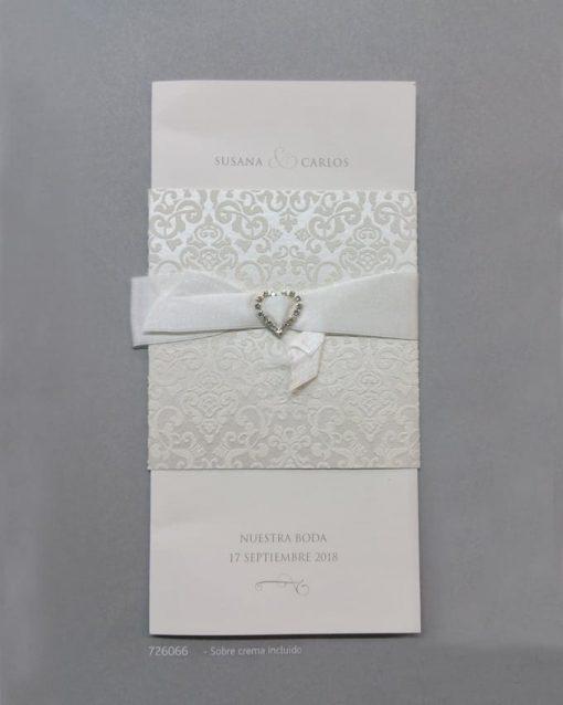 Invitación Romantic 726066BE - tiendadeilusiones