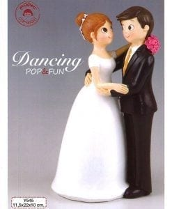 Figura pastel Pop & Fun bailando 22cm