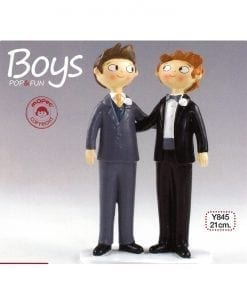 Figura para pastel Boys Pop & Fun 21cm