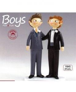 Figura para pastel Boys Pop & Fun 21cm
