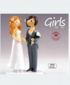 Figura pastel Girls Pop & Fun 21cm