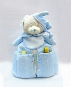 pañalera para regalo de recién nacidos