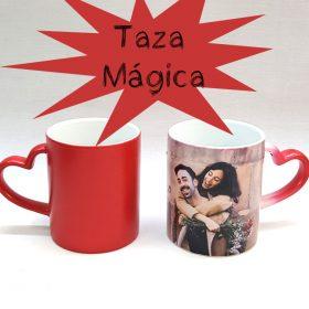 taza magica personalizada con foto