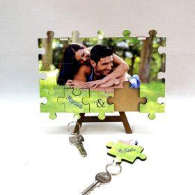 Porta llaves doble puzzle