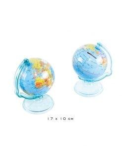 Hucha globo del mundo, regalo original.