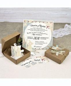 invitación de boda cardnovel 39639