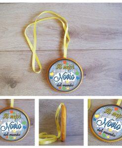 Medalla Novio 13 cm 0508-artmodel