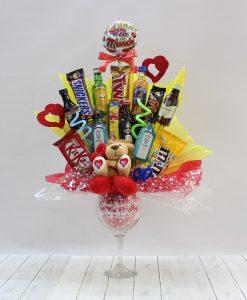 cestas originales para cumpleaños, amor, amistad, san valentin