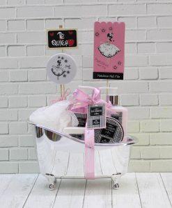 cesta bañera para san valentin
