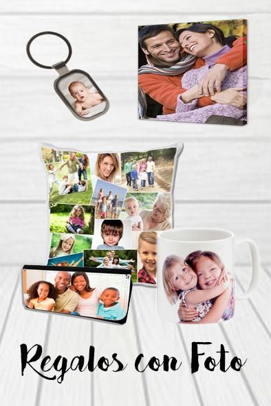Regalos personalizados con foto