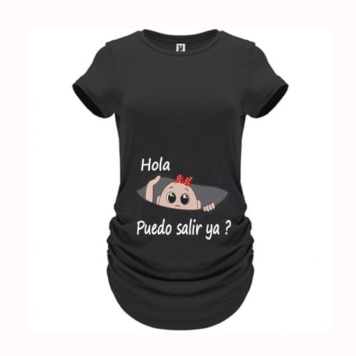 Camiseta ideal para embarazadas