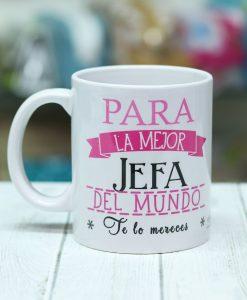 Taza taza para la mejor jefa