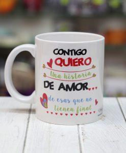 Taza contigo quiero