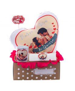 cesta de regalo para san valentin