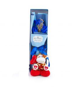 caja aflores con para san valentin