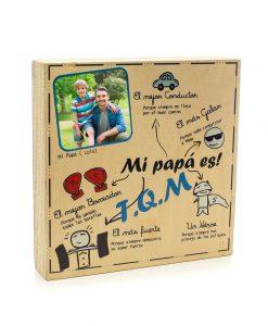 Taco de Madera 20x20x 4cm